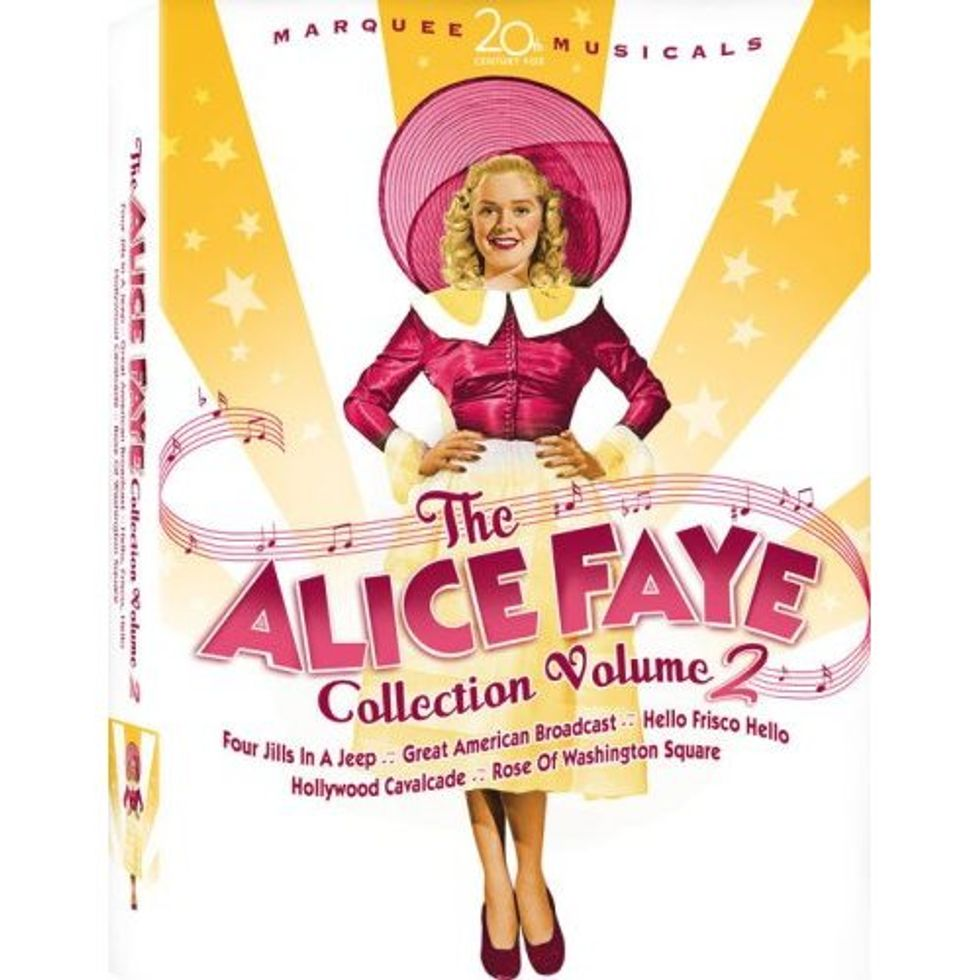 Alice Faye Collection Volume 2 On DVD!