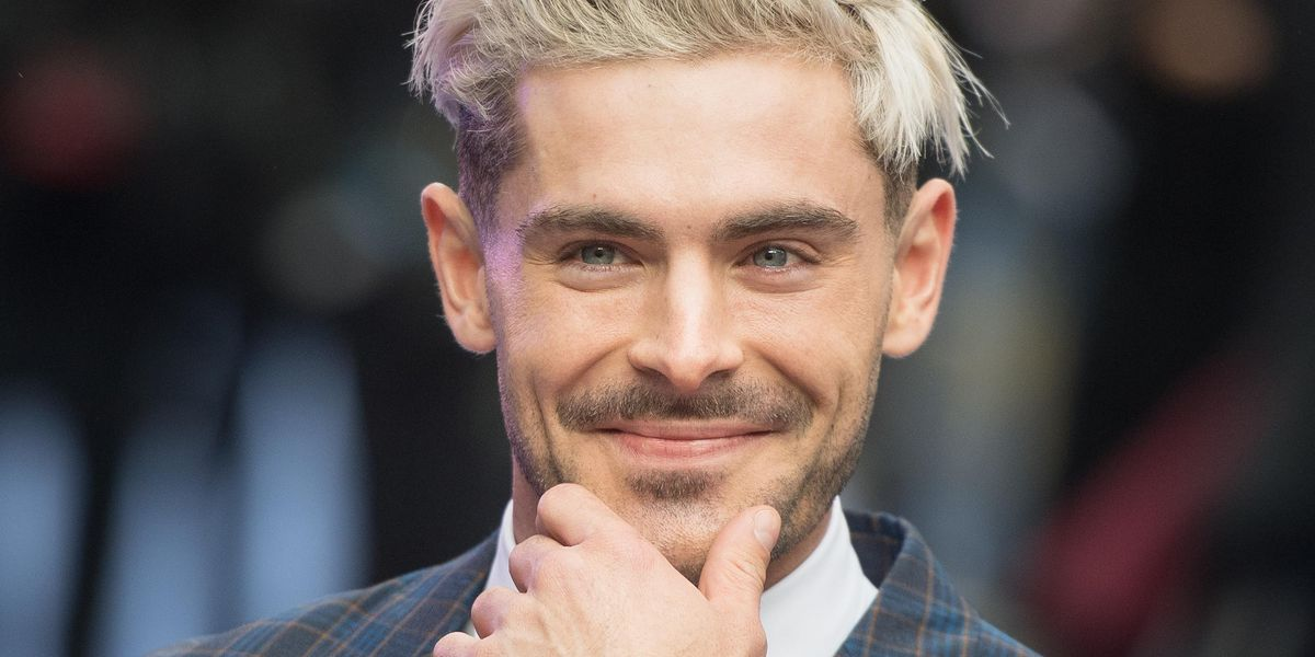 Zac Efron Debuts a New Mullet