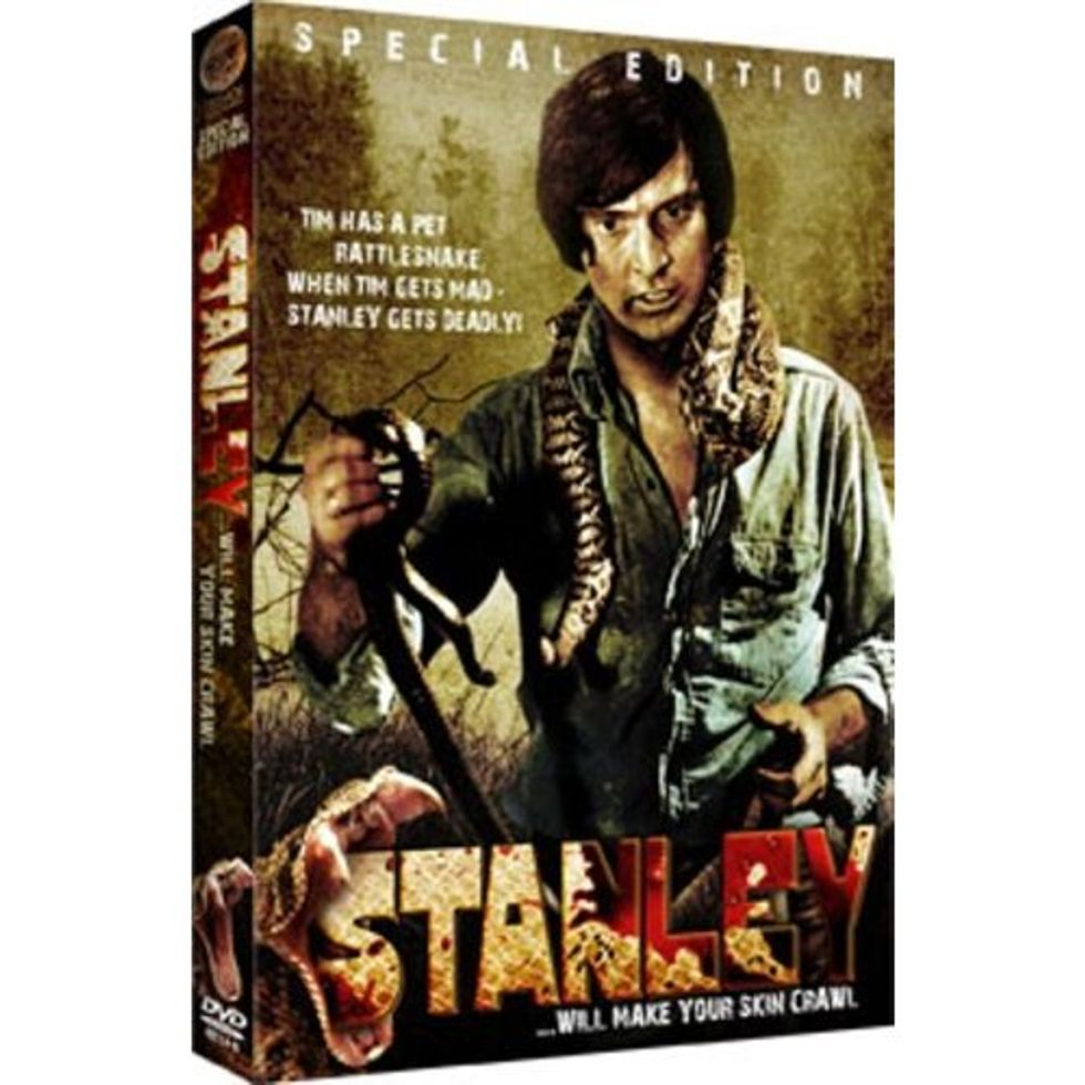 Snakes on a DVD: Stanley!