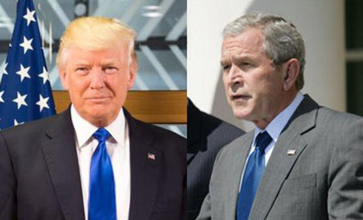 READ: George W. Bush condemns pro-Trump 'insurrection' at Capitol