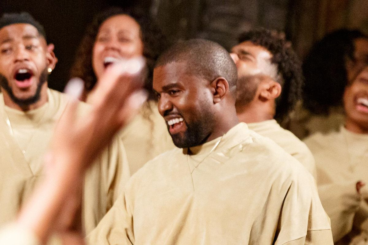 Kanye West Drops a Christmas Day Surprise