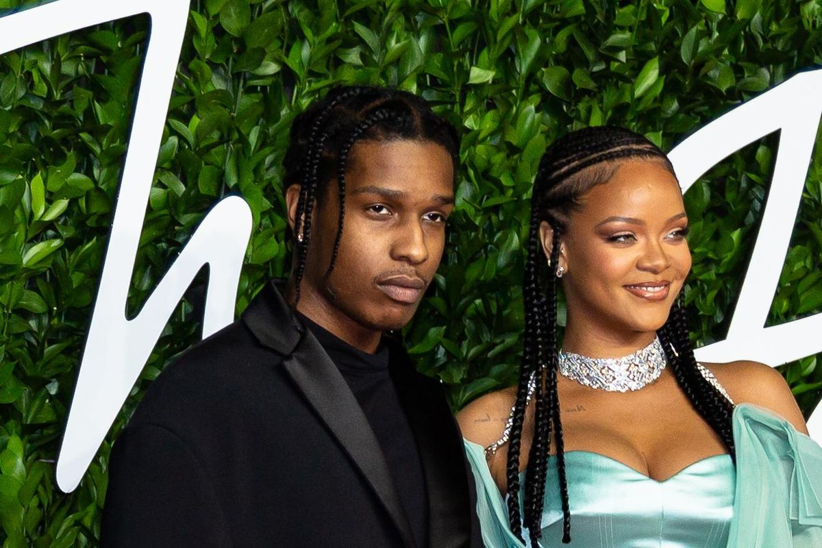 Rihanna and A$AP Rocky Spend the Holidays Together