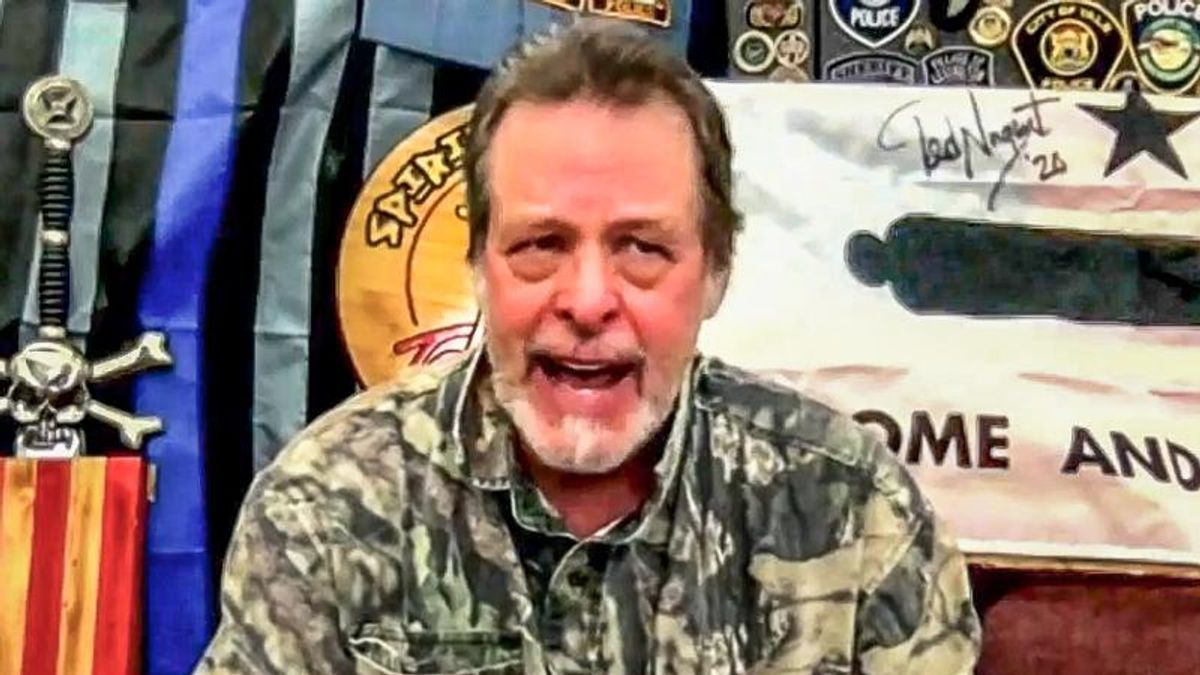Ted Nugent unloads holiday attack on 'soulless' and 'stupid' Black Lives Matter