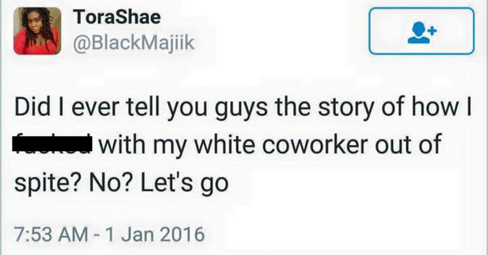 Black Woman's Response To Her New Racist Coworker Is Pure Pranking Perfection