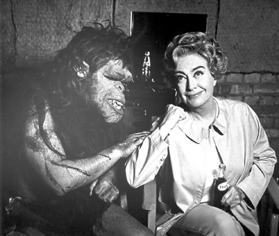 Happy Thanksgiving From Joan Crawford & Trog!