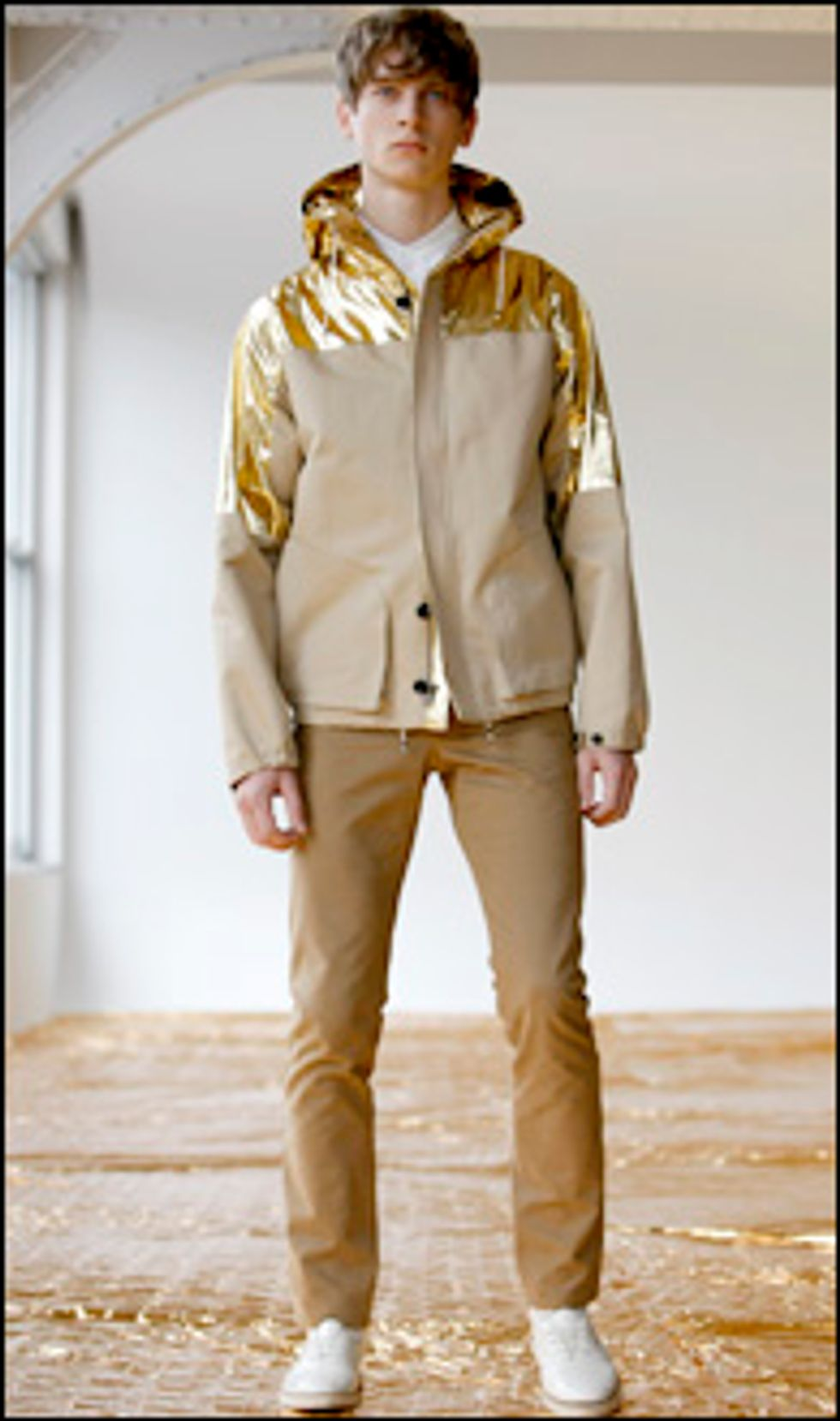 Mr. Mickey in Gold Lame Patrik Ervell for Fall 08?