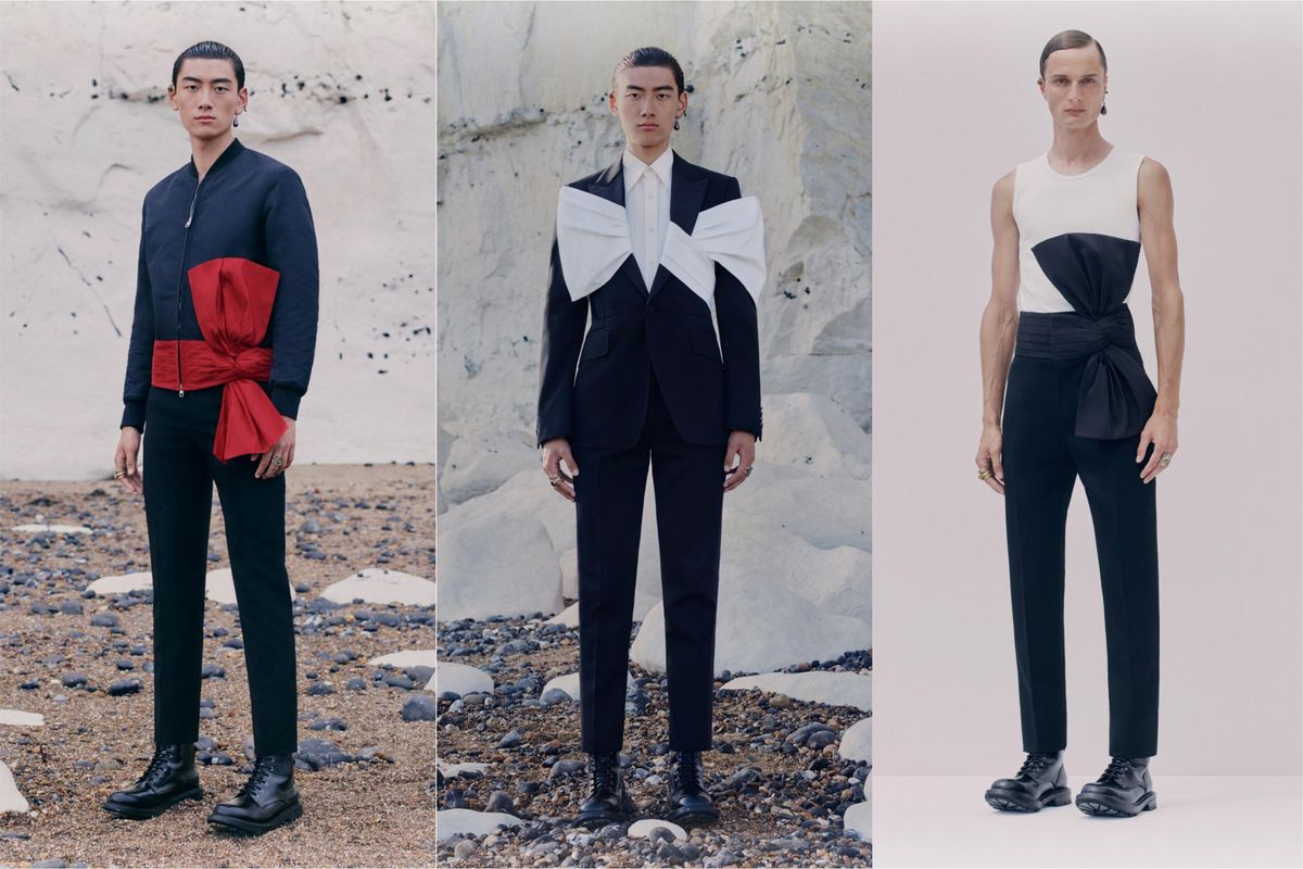Wrap Me In Every One of These Delicious Alexander McQueen Men's Looks