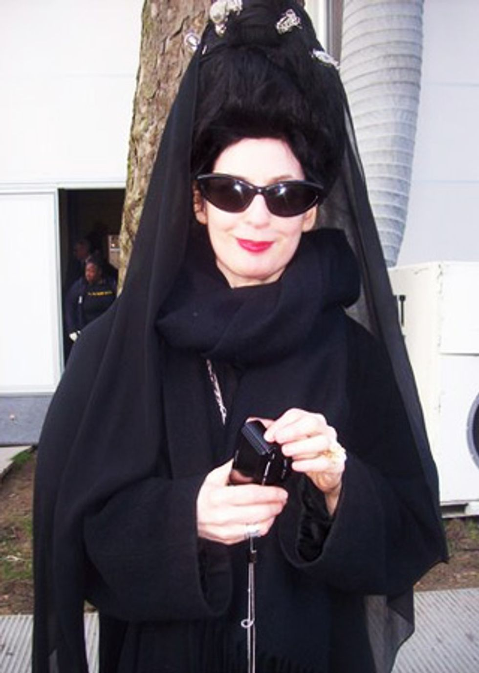 Down-Low London Fashion Week: Checking in With Diane Pernet at the Meadham-Kirchhoff Show