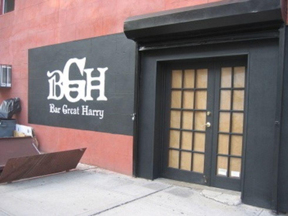 Bar of the Week: Bar Great Harry