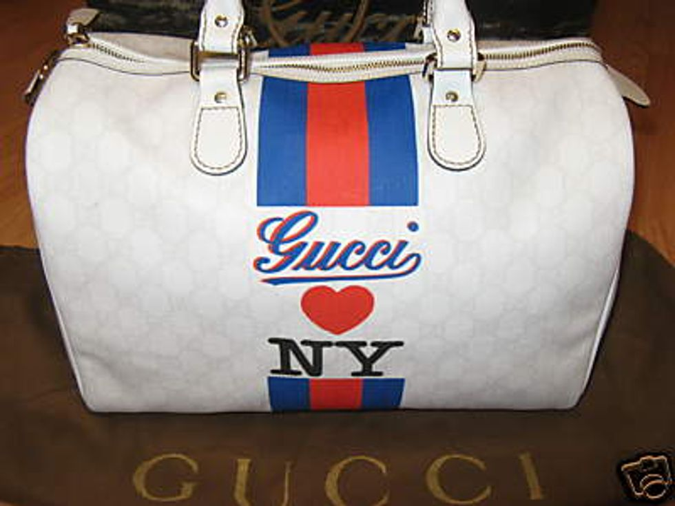 Hang on to Your GUCCI LOVES NY Bags!