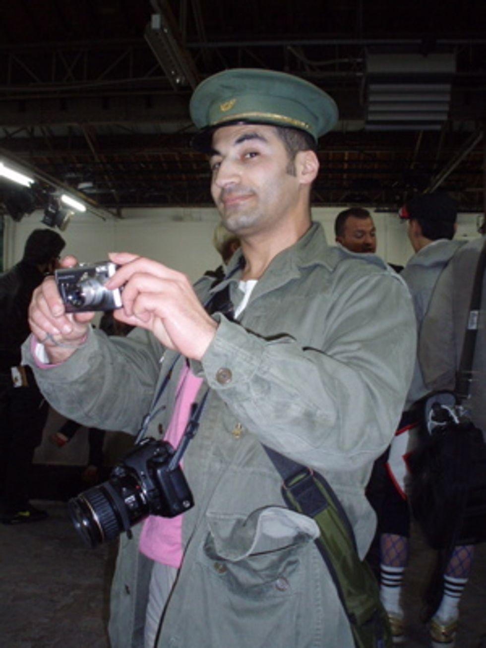 The Cute Photographers of Paris Fashion Week: Kamel Ahmadi