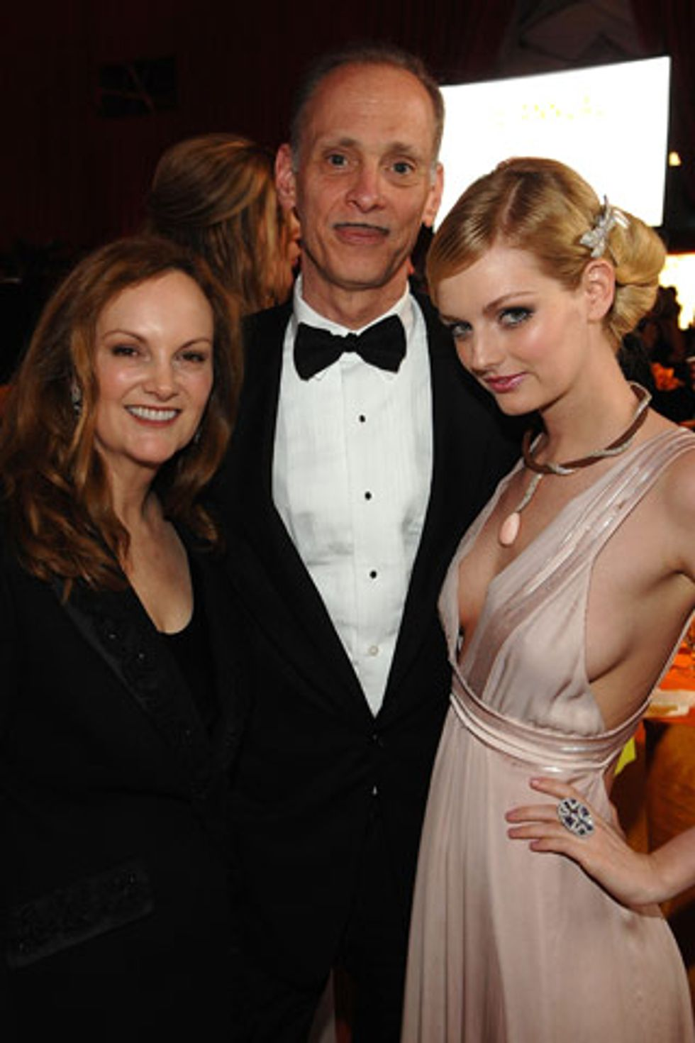 One Big Happy Family: John Waters with Patricia and Lydia Hearst-Shaw
