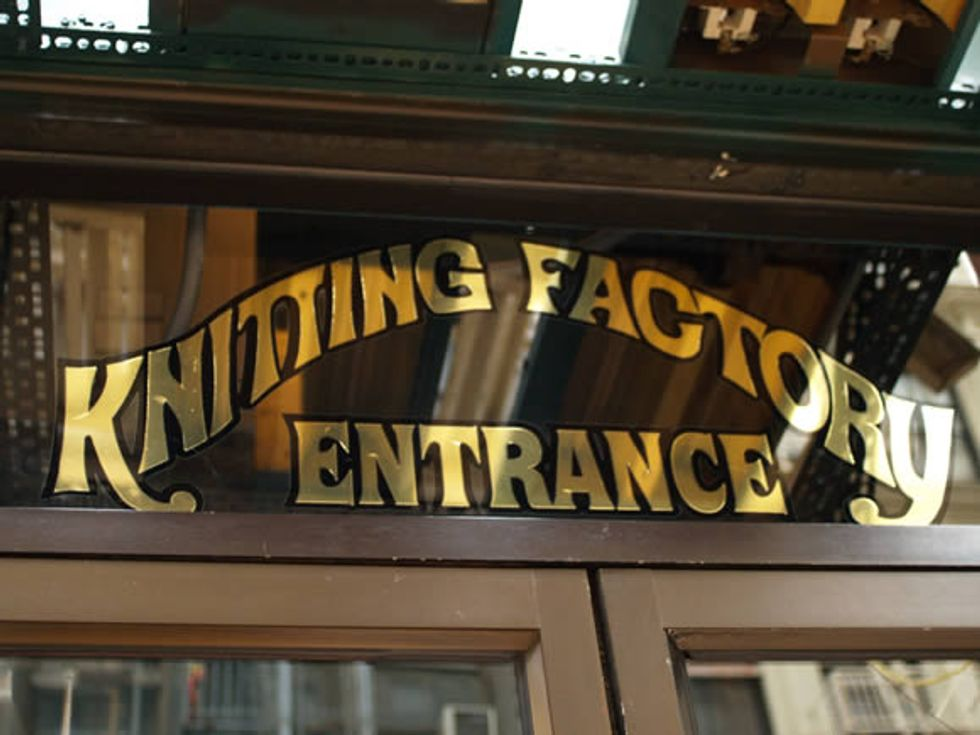 Knitting Factory Relocation Rumors