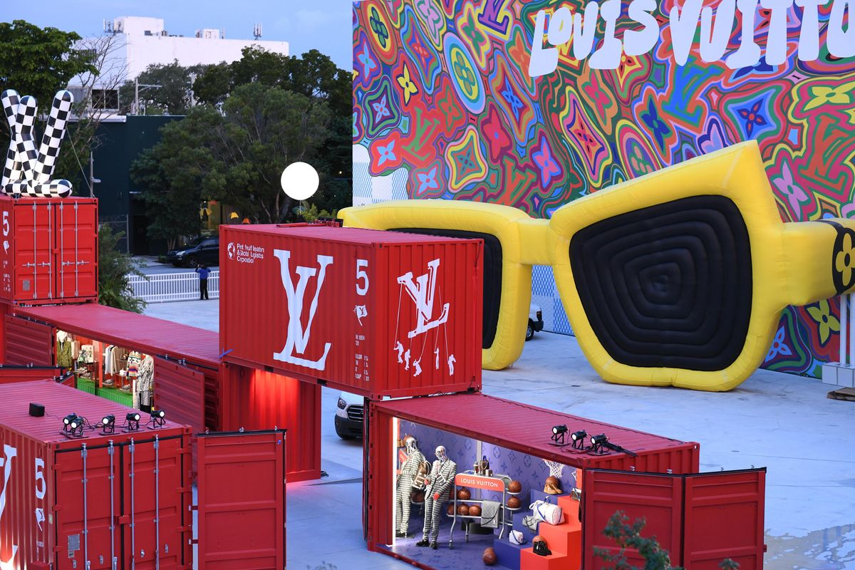 A Louis Vuitton Wonderland Just Touched Down in Miami