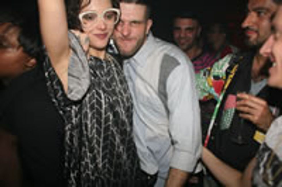 Cute Couples of Paris Fashion Week: Masha Orlov & Jason Farrer