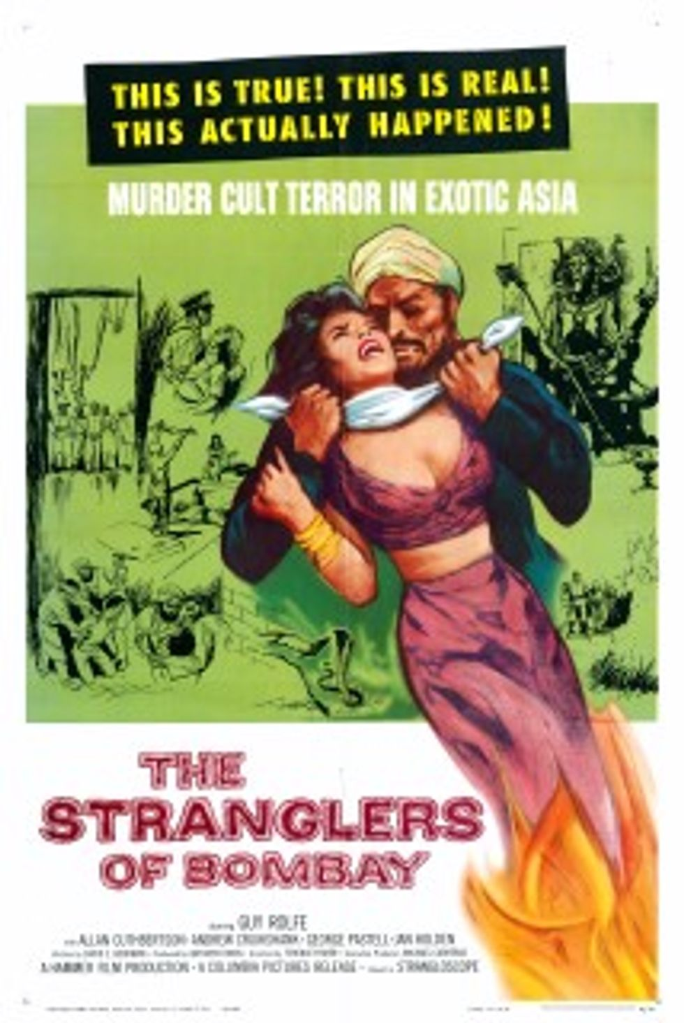 Hammer DVDs: The Nanny and The Strangler of Bombay!