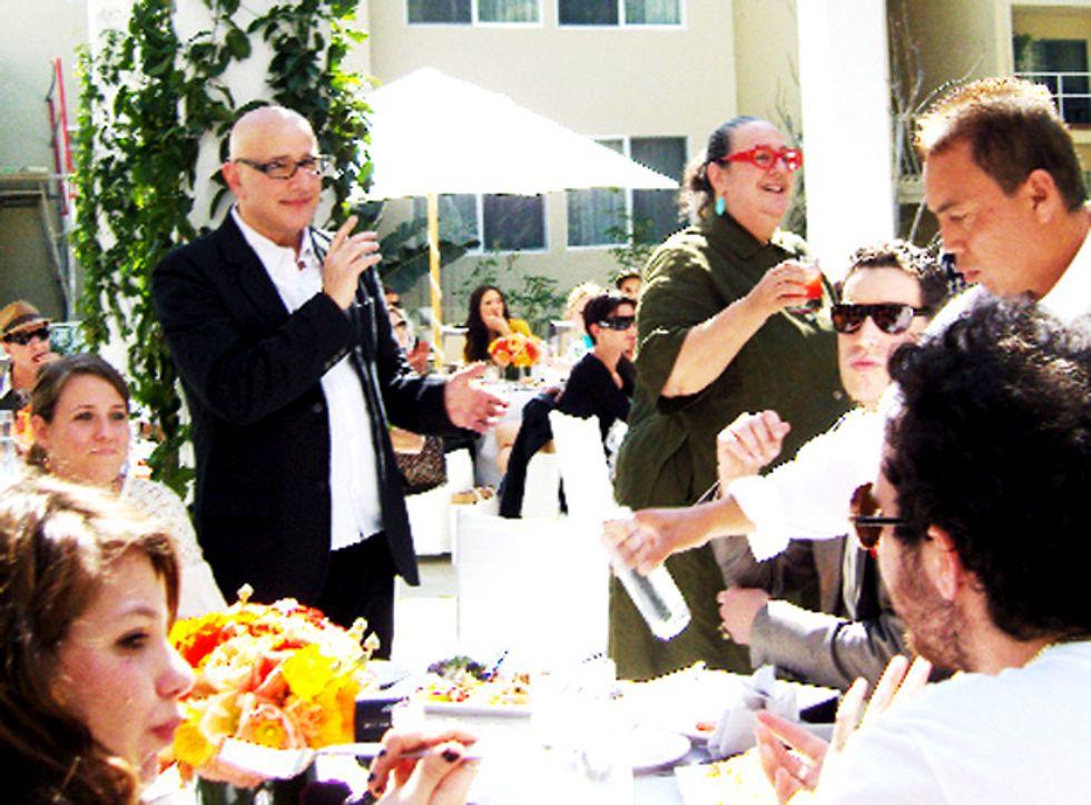 Lindsay Lohan Lunch in LaLa Land