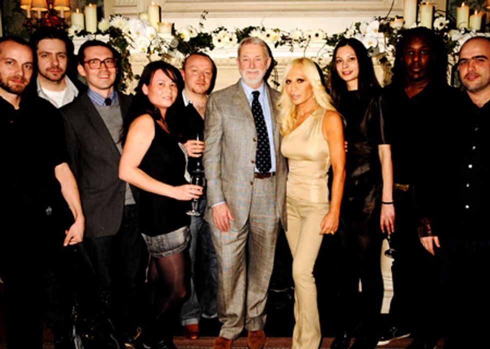 About Last Night, London Edition: Fashion Fringe 2008 Launch Party