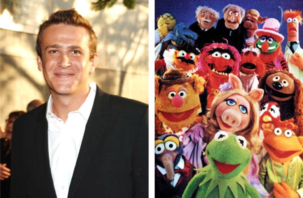 Jason Segal + Muppets = Yay!