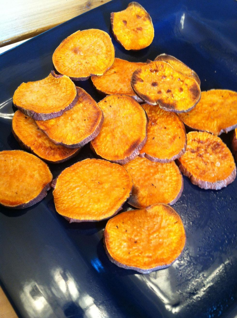 How To Make Roasted Sweet Potato Slices B C Guides