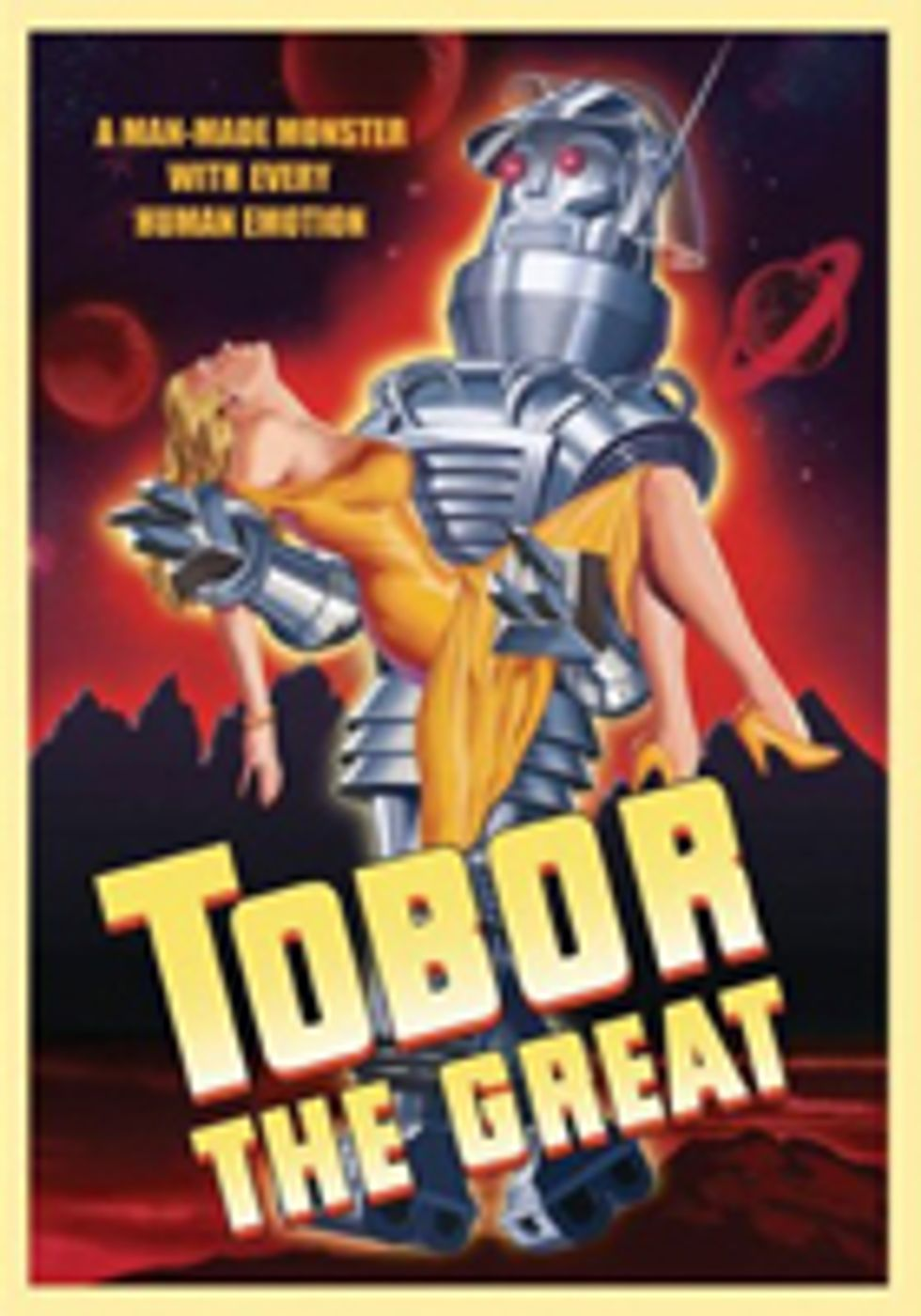 "Tobor Is Robot Is ""Joyfully Idiotic."""