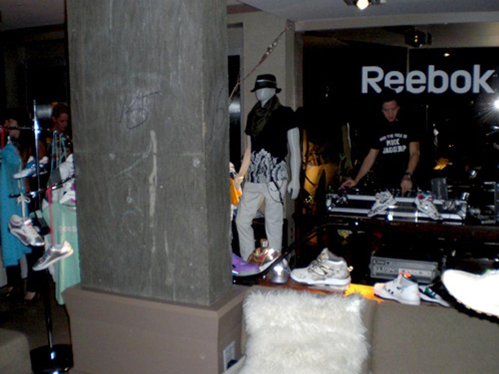 Nouveau York City: Reebok Fall Preview Party at Soho Grand