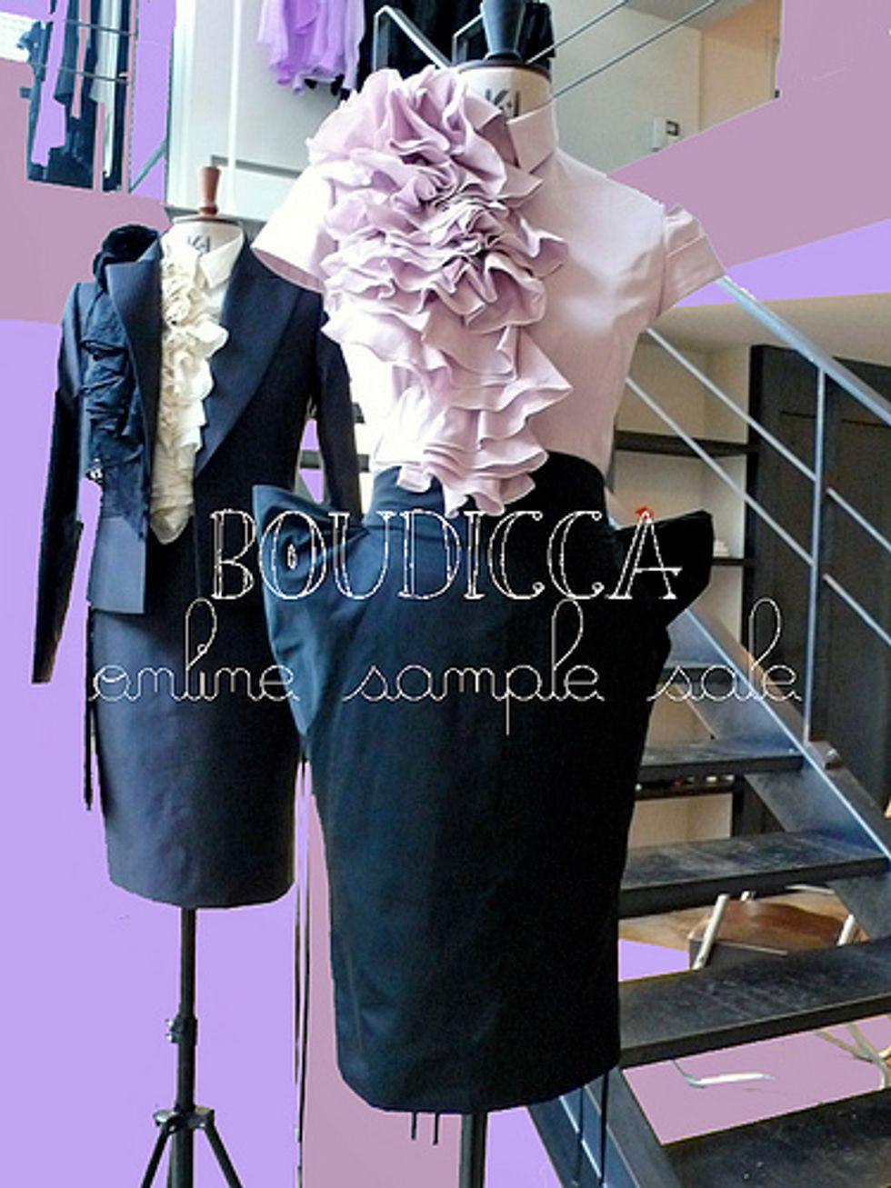 Boudicca Online Sample Sale