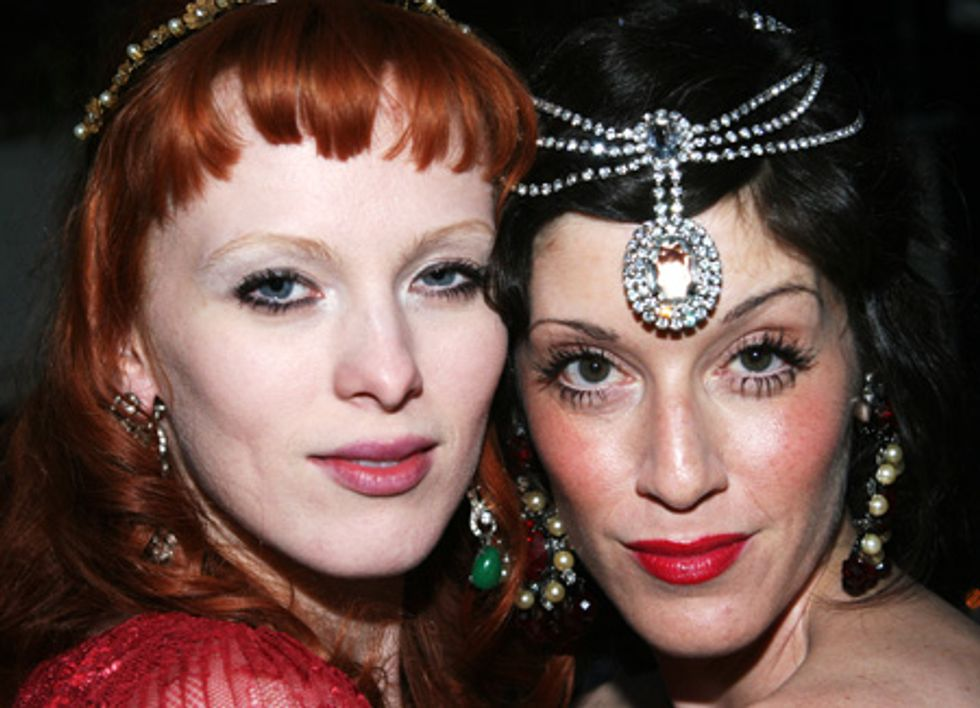 About Last Night... House of Lavande Dinner at Bobo Hosted by Karen Elson and Sarah Sophie Flicker