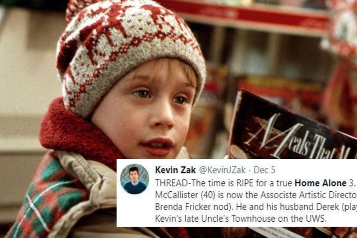 A brilliant idea for a new 'Home Alone' movie that needs to get made right now