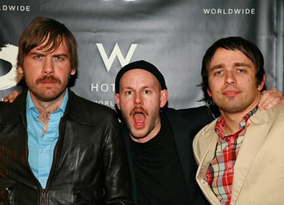 Lusting for Peter Bjorn and John at W Hotel's Wonderlust Live