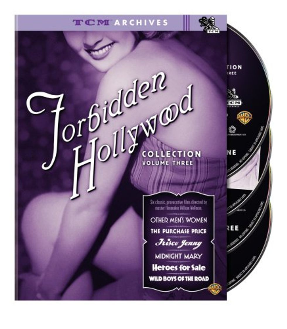 Pre-Code Madness: Forbidden Hollywood: Volume Three on DVD!