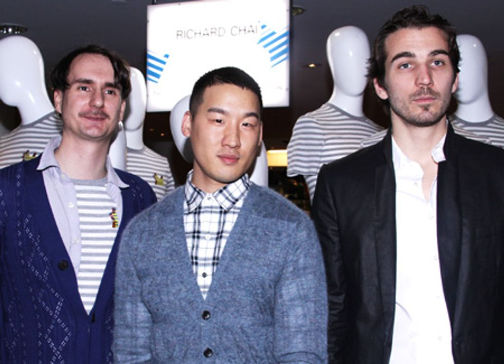 About Last Night... Richard Chai and Ben Jones T-Shirt Collab Party at Barneys