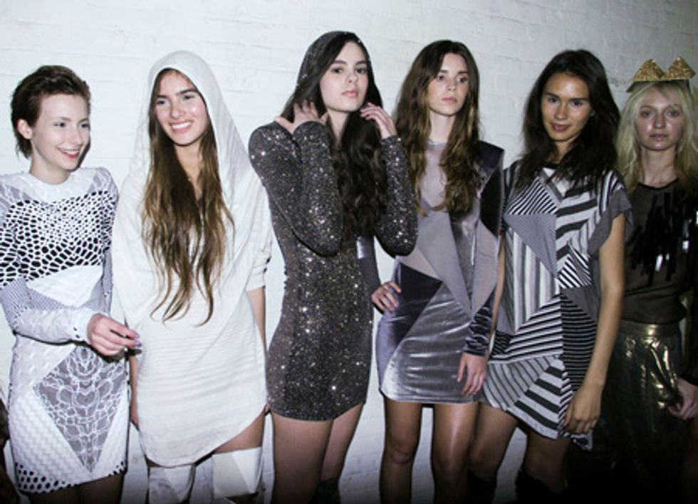 L.A. Fashion Week Report: The Brian Lichtenberg Show