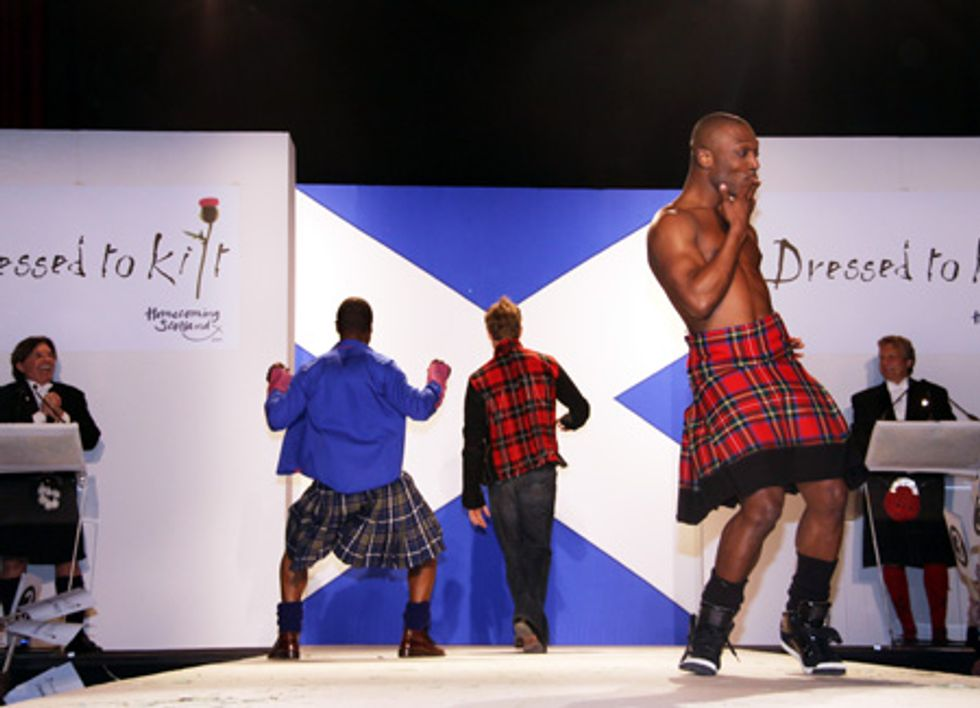 About Last Night... Dressed to Kilt Benefit at M2