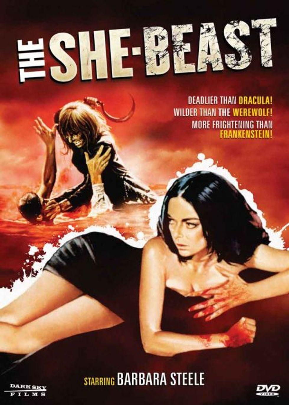 The She-Beast On DVD!