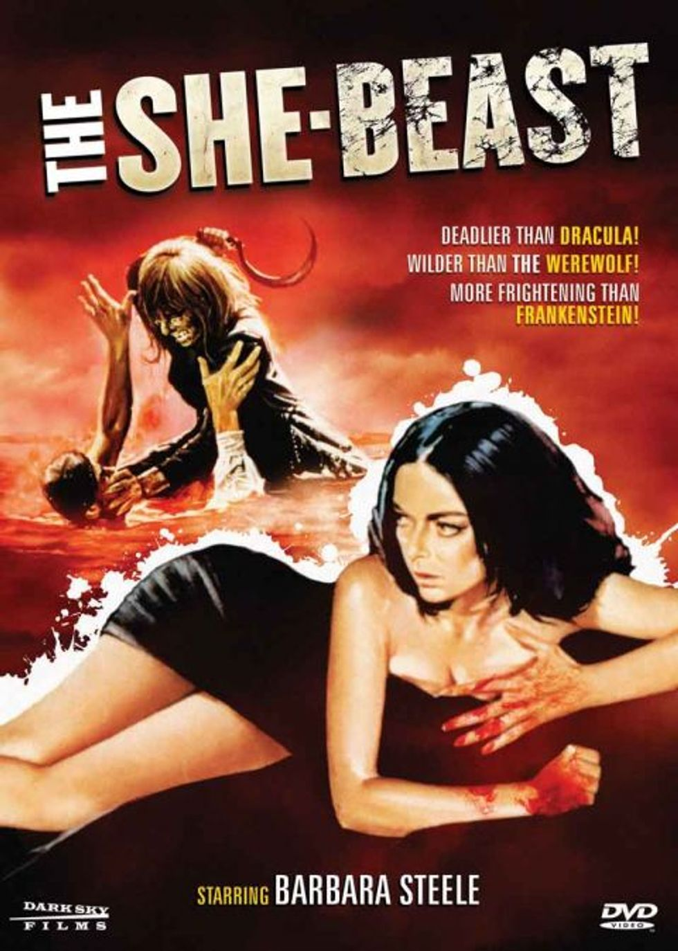 The She-Beast On DVD!