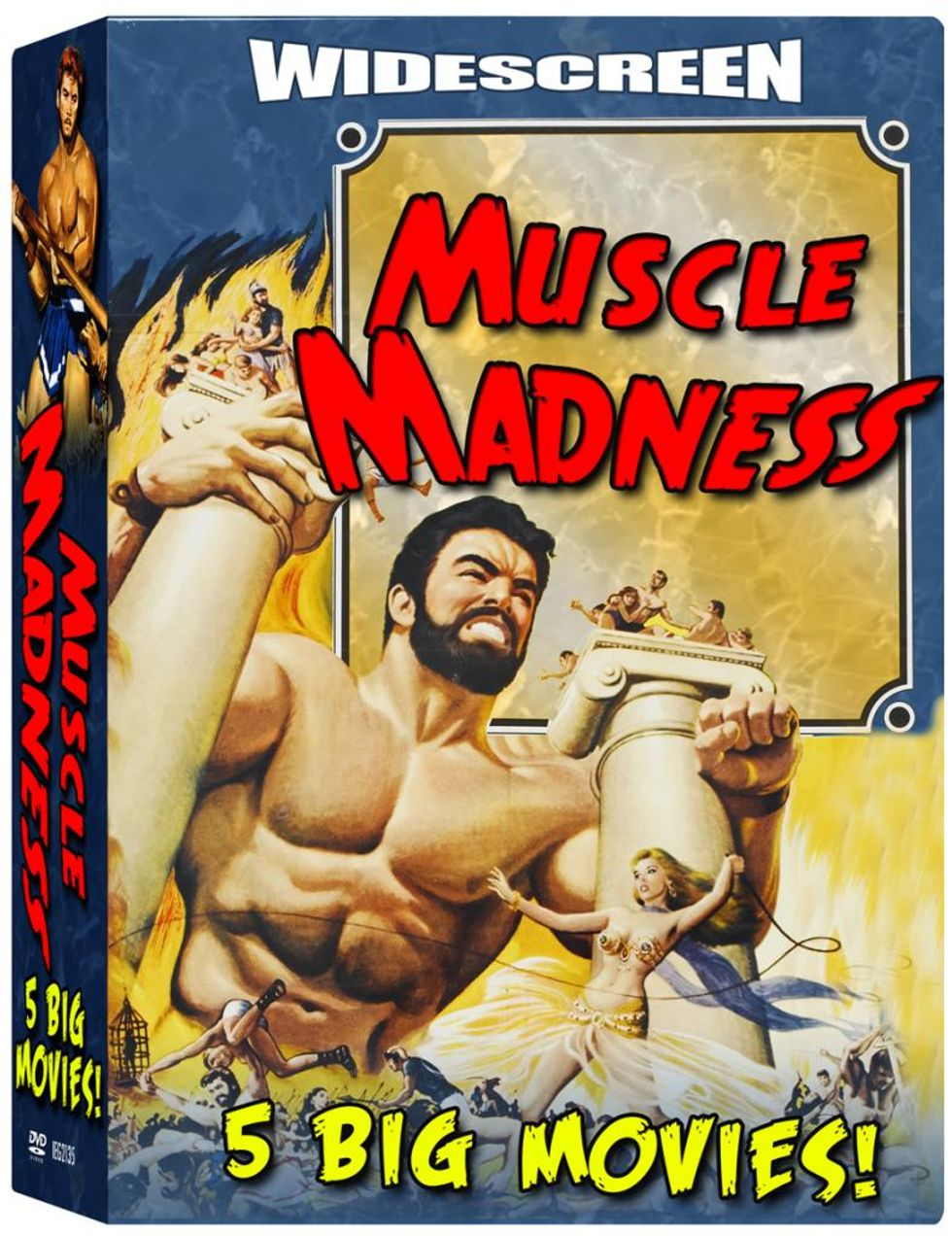 """Muscle Madness on DVD -- """"It's Beefbag-o-Rama!"""""""