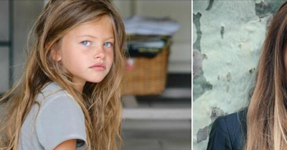 'The Most Beautiful Little Girl in the World' Has Transformed into an Equally Beautiful Adult