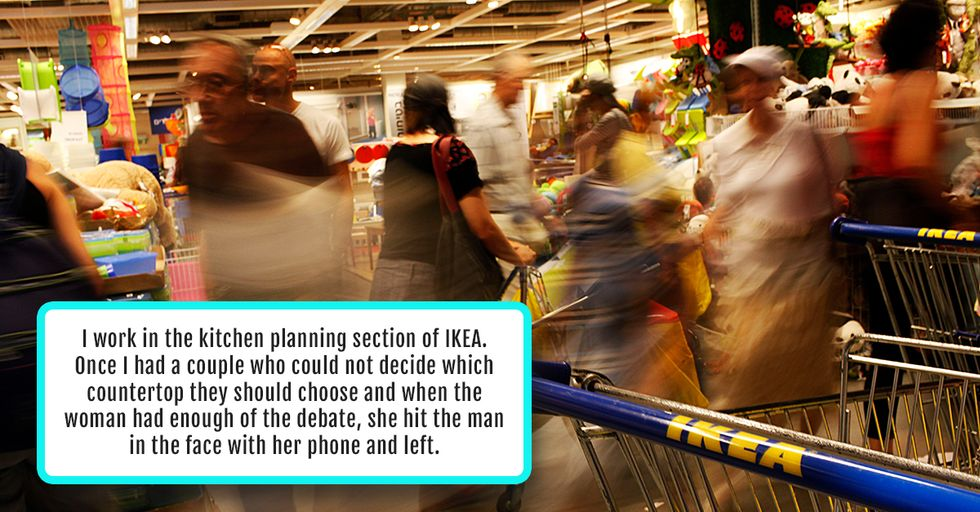 20 People Share the Worst Meltdowns They've Ever Seen at IKEA