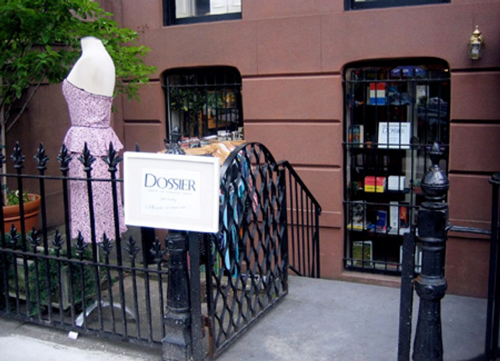 Shop of the Week: Dossier