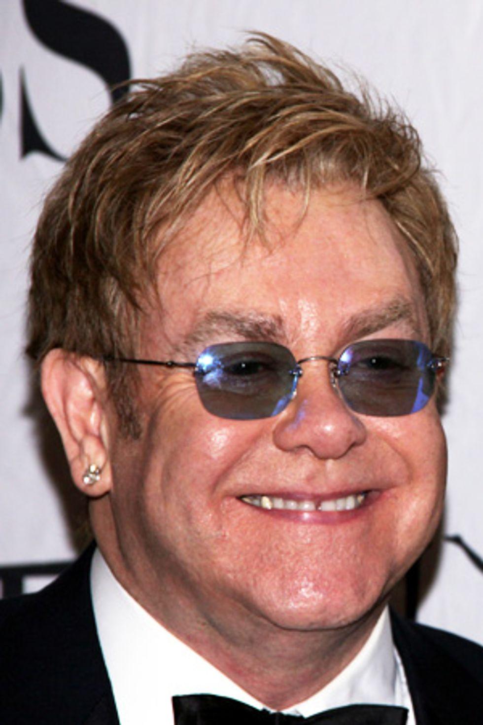 Tony's Tid-Bit: Elton John Took a Tumble!