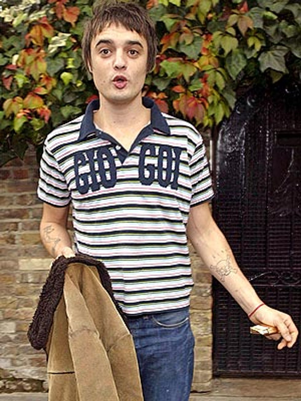 Eight Items or Less: Pete Doherty, The Cozy Coupe & Stars Like Fleas
