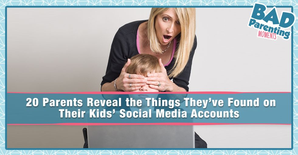 20 People Reveal the Most Embarrassing Thing They've Found on Their Kid's Internet History