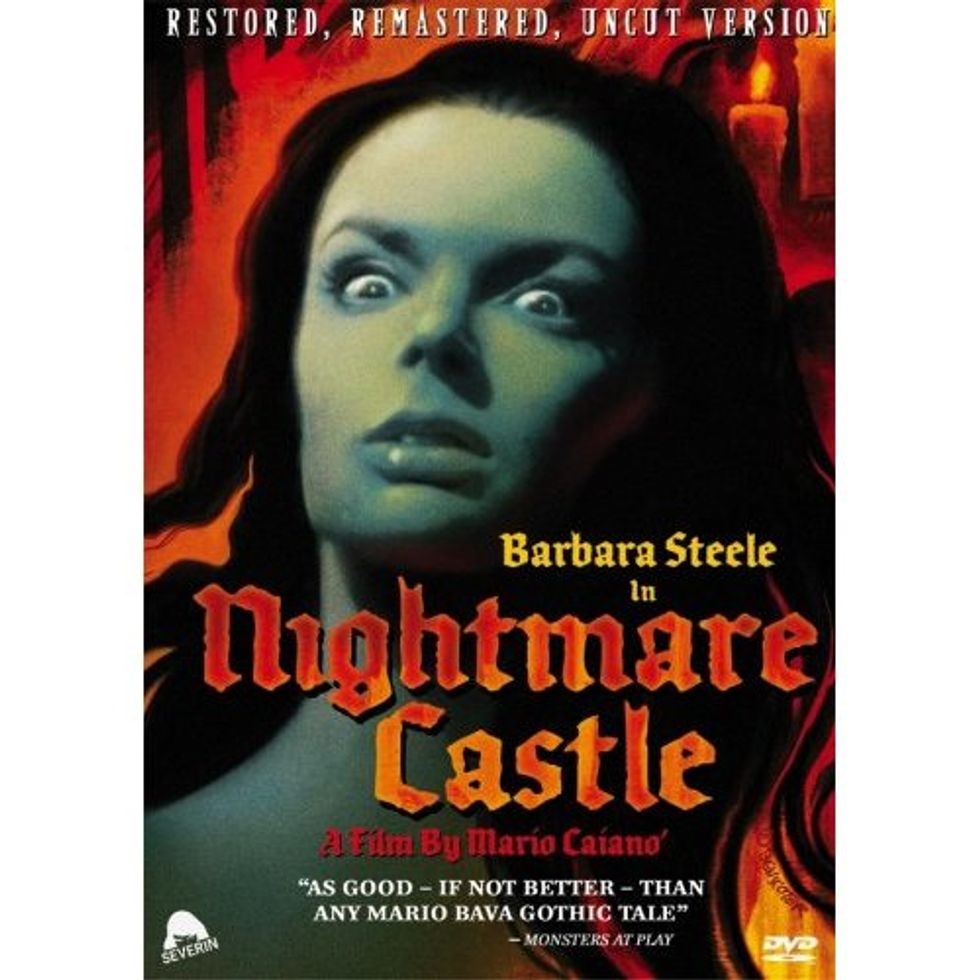 Gorgeous Gothic Horror: Nightmare Castle On DVD!