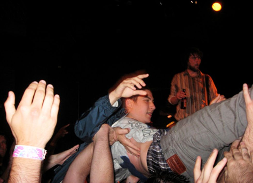 I Dreamed I Was Onstage with the Hold Steady in My Uniqlo Boxers