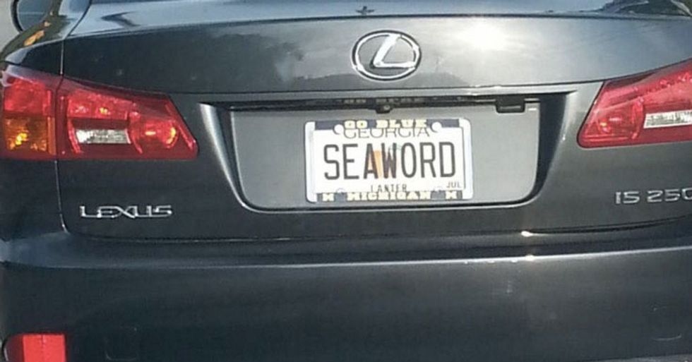 These 21 Totally Tasteless License Plates Never Got Caught By The DMV