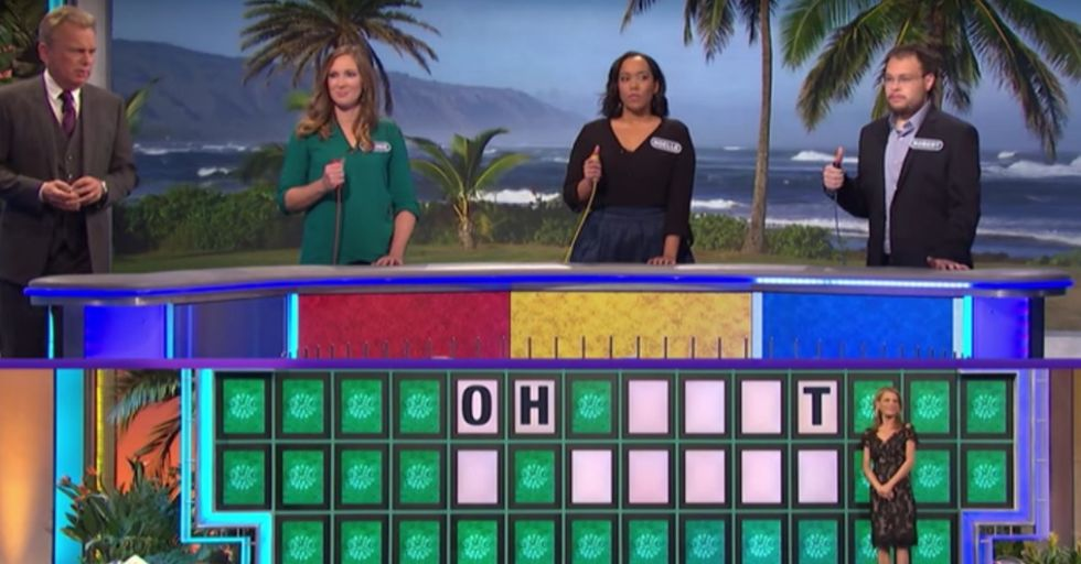 This Guy Killed It On 'Wheel of Fortune' By Solving a Puzzle With Just ONE Letter