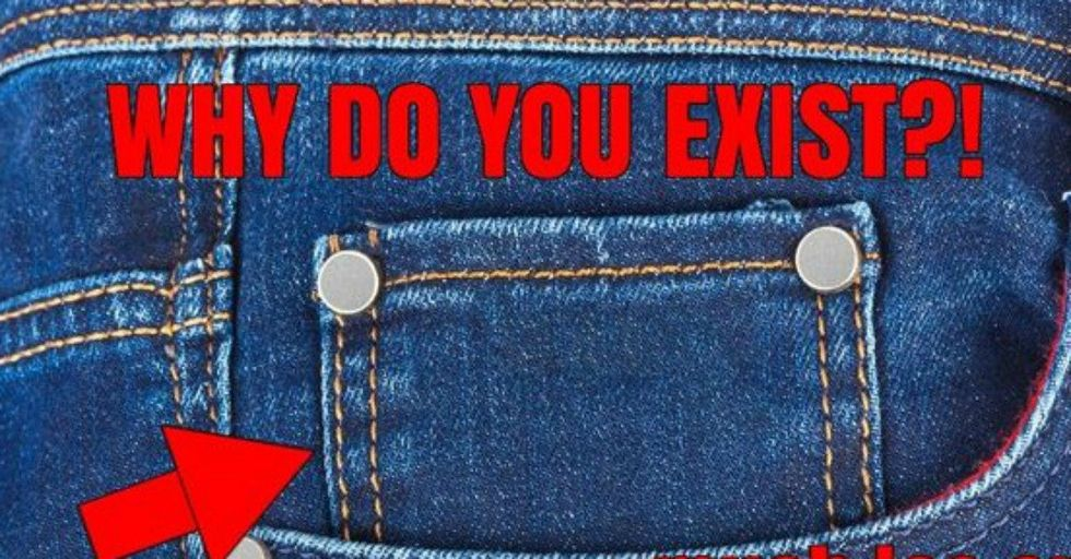 This Is the REAL Reason Your Jeans Have That Tiny Pocket With Tiny Buttons