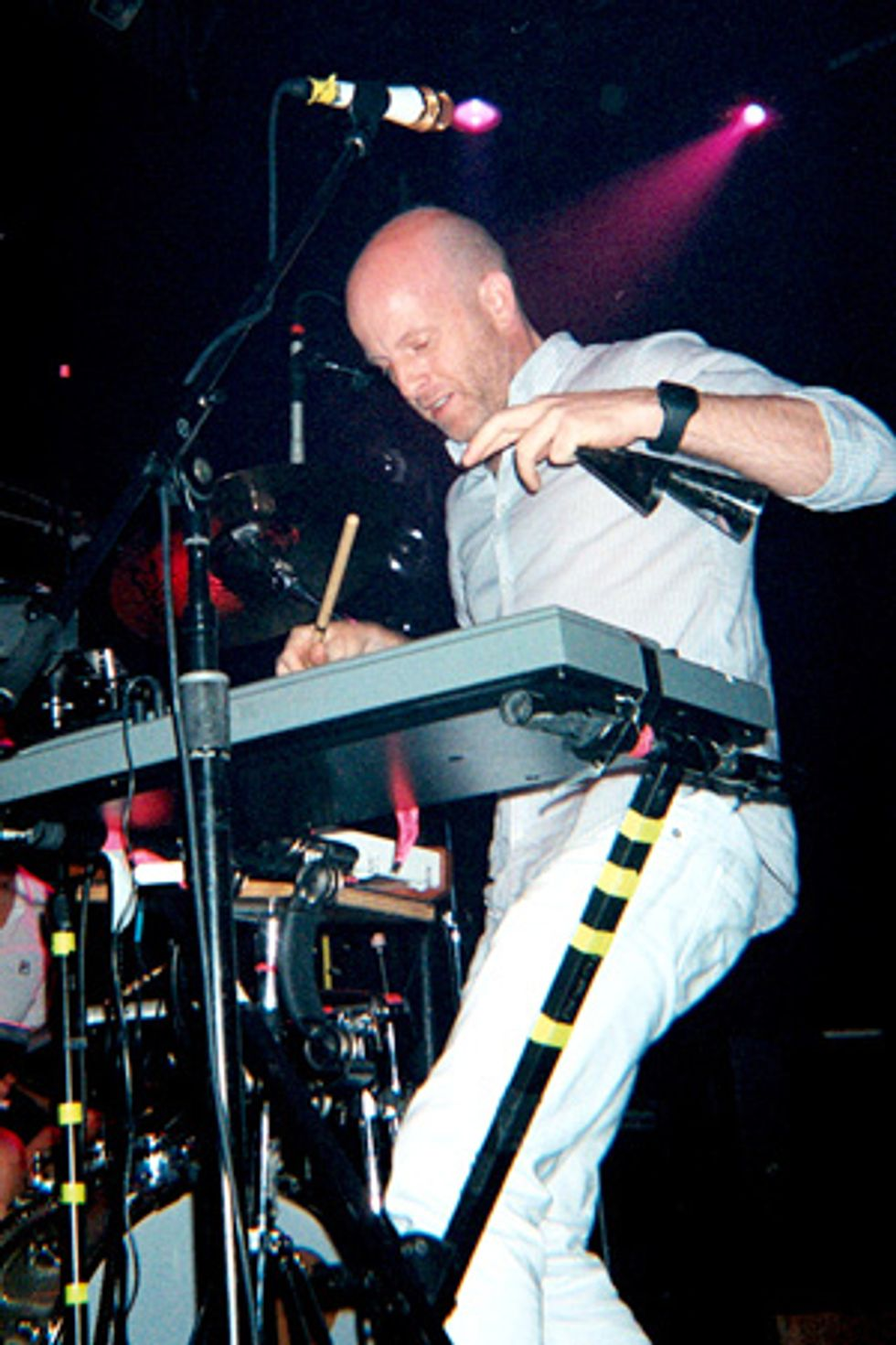 The Juan Maclean Finish Up North American Tour at Webster Hall