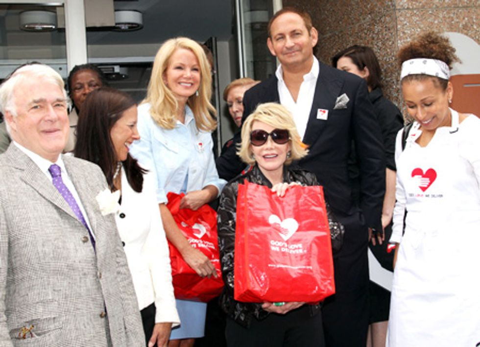 About This Morning... M.A.C. AIDS Fund Presents $250,000 to God's Love We Deliver in Honor of Joan Rivers